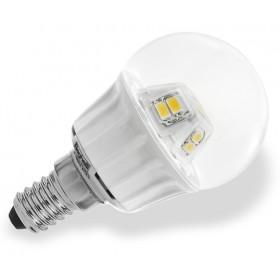BEGHELLI LAMPADA A LED 56070 SFERA E14 W4,0 LUCE CALDA