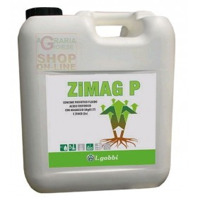 GOBBI ZIMAG P PHOSPHORIC FLUID FERTILIZER PHOSPHORIC ACID WITH MAGNESIUM AND ZINC KG. 1.4
