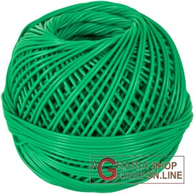 BALL OF PVC BINDING FOR BINDING MM. 2 GREEN
