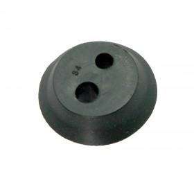 Gommino a 2 fori per decespugliatori Kasei diam. 21,8 x 4,5 mm.