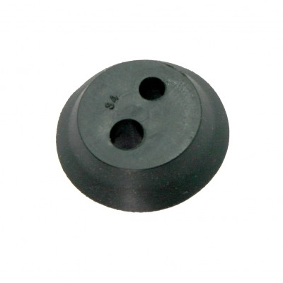2-hole rubber for Kasei brushcutters diam. 21.8 x 4.5 mm.