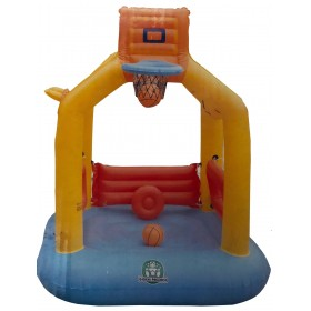 INFLATABLE JUMPING BASKETBALL cm. 140x150x180h.