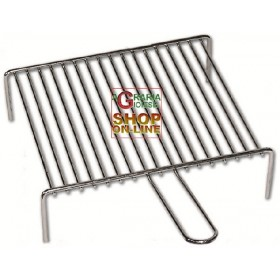 CHROME GRILLE FOR FIREPLACE CM. 40X35