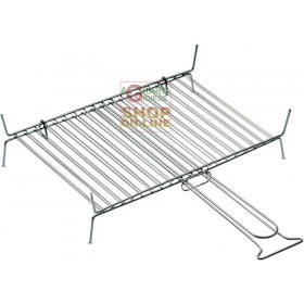DOUBLE FERRABOLI GRILL WITH 19 BARS cm. 40x30