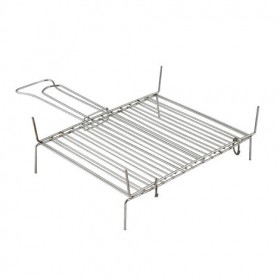 SMOOTH CHROME-PLATED FRRO WIRE RACK b.19 CM. 27x45