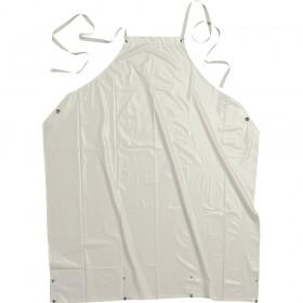 APRON PVC 100% 90X110 WHITE