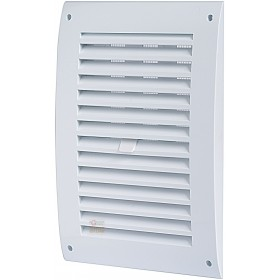 VENTILATION GRILLE IN ABS WITH CLOSURE AND NET MM. 170 X 250