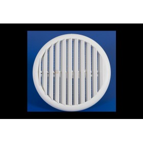 VENTILATION GRILLE IN PLASTIC WITH SPRINGS DIAM. MM. 63-125
