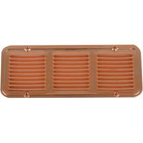 COPPER VENTILATION GRID WITH MOSQUITO PROTECTION DIAM. CM. 14 X