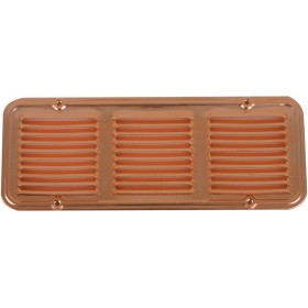 COPPER VENTILATION GRID WITH MOSQUITO PROTECTION DIAM. CM. 23 X