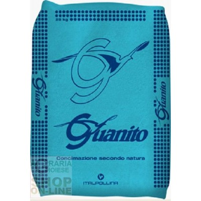 GUANITO ORGANIC FERTILIZER WITH THE HIGHEST TITLE OF NITROGEN AND PHOSPHORUS KG. 25