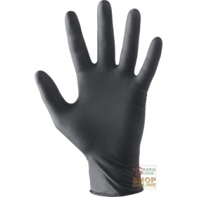 AQL 1 5 POWDER-FREE LATEX GLOVES COLOR BLACK TG SML XL FOR MINIMUM RISKS ONLY