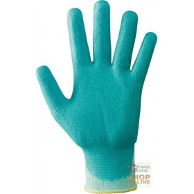 NYLON GLOVES COVERED IN WATER BASED POLYURETHANE FOAM COLOR