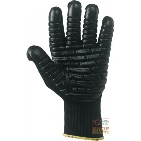 ANTI-VIBRATION GLOVE IN COMPLIANCE WITH EN ISO 10819 TG 8 9