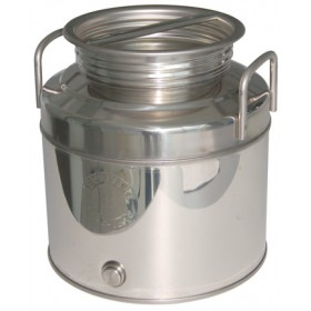 BELVIVERE STAINLESS STEEL CONTAINER LT. 20