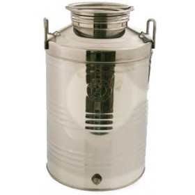 BELVIVERE STAINLESS STEEL CONTAINER LT. 50 HIGH