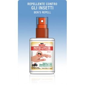 BENS REPELL ML. 100 REPELLENT MOSQUITOES AND TICKS