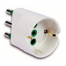 10A-BIP ADAPTER FOR SCHUKO SOCKET