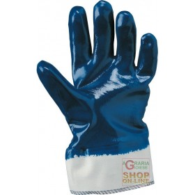 NBR GLOVE FULLY COVERED CANVAS HOSE TG L