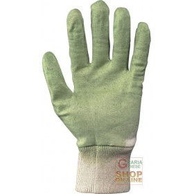 GLOVE NBR MESH WRIST AERATED BACK COLOR GREEN TG 8 9 10