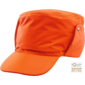 BEANIE IN GB TEX ORANGE FABRIC