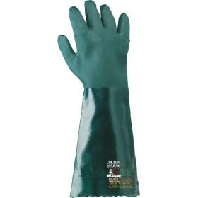 PVC GLOVE CM 45 GREEN TG 9 5