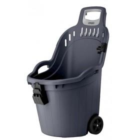 Helpy Cart Multipurpose wheelbarrow complete with broom holder