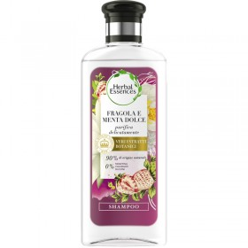 HERBAL ESSENCES SHAMPOO STRAWBERRY AND SWEET MINT 250 ML