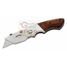 HERBERTZ FOLDING CUTTER KNIFE WITH INTERCHANGEABLE BLADES MOD. 216309
