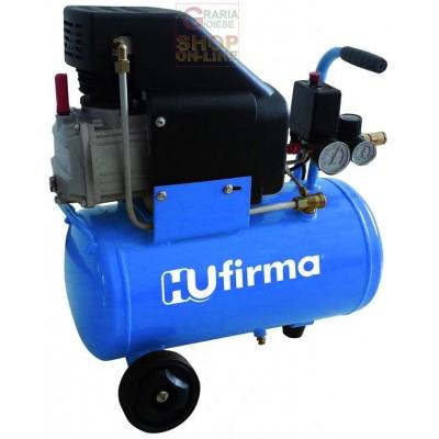 HUFIRMA COMPRESSORE 230V HUCAF-24L 1 CILINDRO DIRETTO HP. 2 LT.
