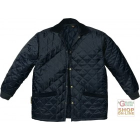 HUSKY NYLON QUILTED BLUE COLOR TG SML XL XXL