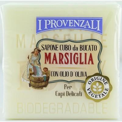 I PROVENZALI LAUNDRY SOAP MARSEILLE FOR DELICATE GARMENTS CUBE