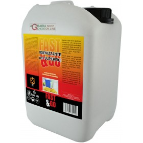 NEW FAST LIQUID SANITIZER FOR SURFACES BASED ON QUATERNAR SALTS