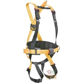 FALL ARREST HARNESS WITH DORSAL ANCHORAGE POINT EQUIPPED WITH POSITIONING BELT