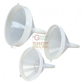 FUNNEL PLASTIC WITHOUT WHITE FILTER CM. 10