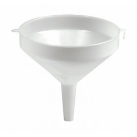 FUNNEL PLASTIC WITHOUT WHITE FILTER CM. 22