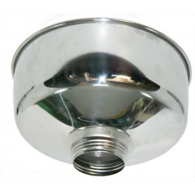 FUNNEL FOR TOMATO SAUCE IN STAINLESS STEEL CM. 22 WITH SMALL SCREW FOR OMRA 2500 2501 2800 2801 2200