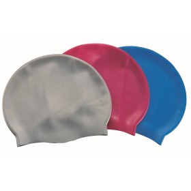 Bestway 26006 unisex silicone swimming cap mixed colors