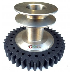 GEAR WITH PULLEY FOR ALPINA EUROSYSTEM MOTORCULTIVATOR