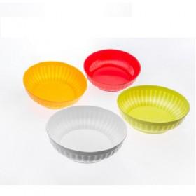 INSALATIERA IN PLASTICA DIAM. 25 Bianco/Giallo O./Verde