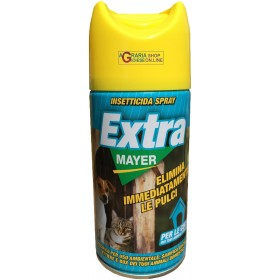 INSECTICIDE SPRAY EXTRA MAYER IMMEDIATELY ELIMINATES FLEAS ML.
