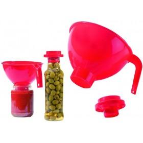 PLASTIC INVASER FOR PRESERVATION JARS WITH REDUCER CM. 17.5