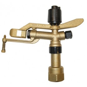 2 JETS ZENITH SWING BRASS SPRINKLER - TENSION 6 DEGREES 1 Inch.