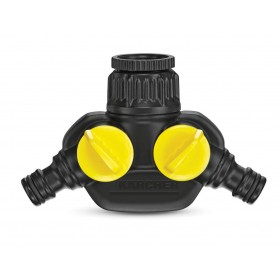 KARCHER ART 26451990 TWO-WAY SOCKET FOR 3/4 INCH TAP.