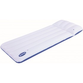 Bestway 43109 Coolerz Luxury inflatable mattress blue white cm. 183x71