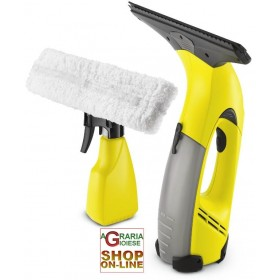 KARCHER LAVAVETRI PULIVETRO WINDOW VAC MOD. WV50 PLUS A VAPORE