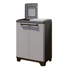 KETER CABINET IN PLASTIC SPLIT PREMIUM FOR SEPARATE WASTE COLLECTION CM. 68x39x92h.