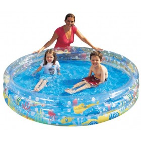 BESTWAY 51004 INFLATABLE POOL FOR CHILDREN WITH THREE RINGS