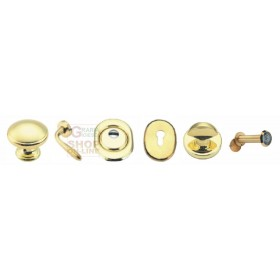 ACCESSORIES KIT FOR ARMORED DOOR RIGHT GOLD