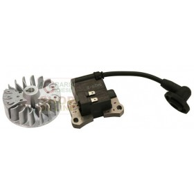 KIT ELECTRIC COIL AND FLYWHEEL FOR BRUSHCUTTER CC. 43 EURO 2